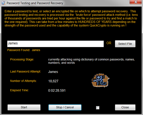 Brute Force Password Testing
